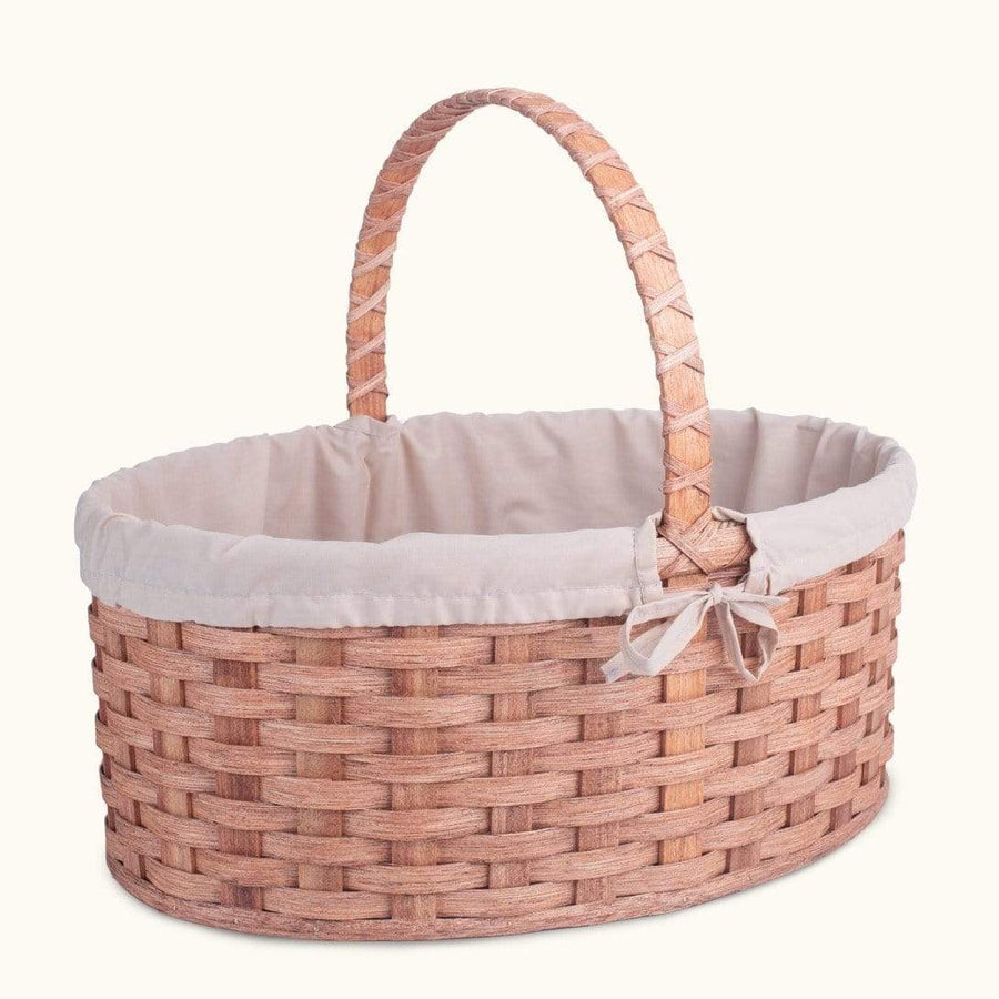 Gingerich Family Biggest Easter Basket | Giant Oval - Amish Woven Wicker