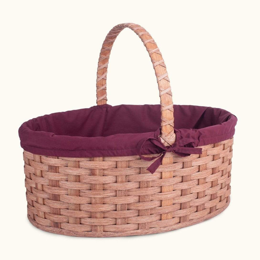 Biggest Easter Basket | Giant Oval - Amish Woven Wicker