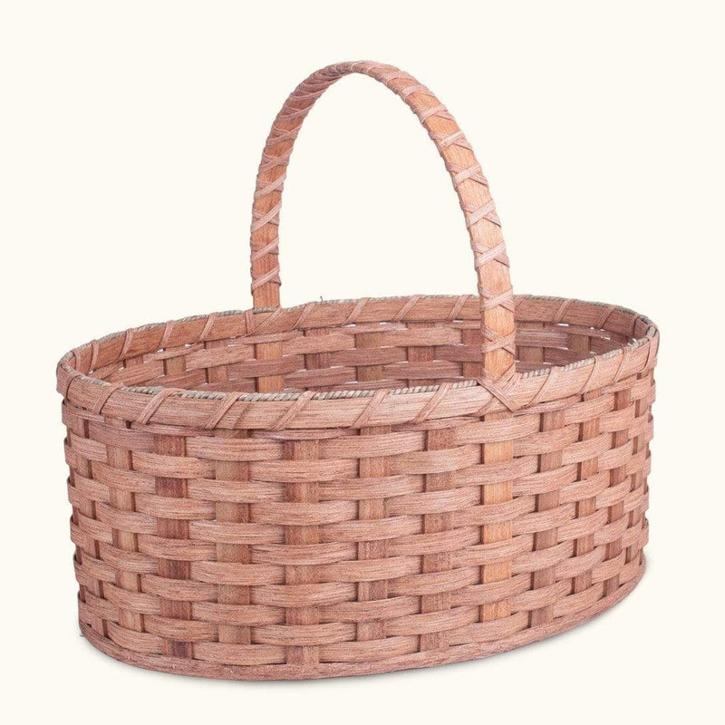 Gingerich Family Biggest Easter Basket | Giant Oval - Amish Woven Wicker Matching