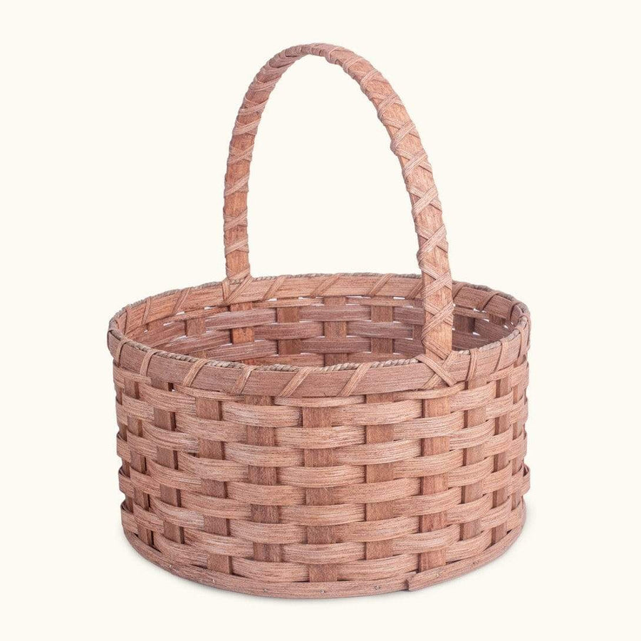 Gingerich Family Heirloom Easter Basket | Extra-Large Round - Amish Woven Wicker