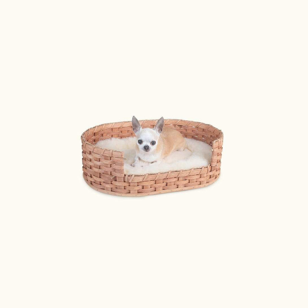 Extra Small Pet Bed Basket Heavy Duty Dog Bed Basket