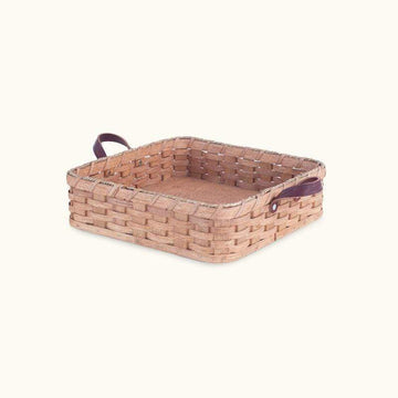 Gingerich Family Amish Made Square Birthday Cake & Casserole Basket - SPECIAL ORDER Matching