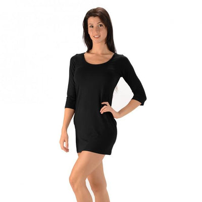 Bamboo Fitted Dress - Naturally Canada