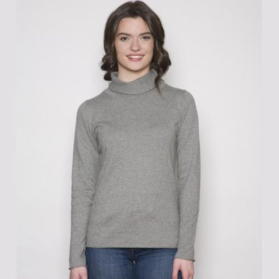 Mock Neck Soft Sweater - Naturally Canada