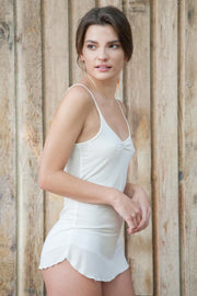Organic Bamboo Tank With Adjustable Strap - Naturally Canada