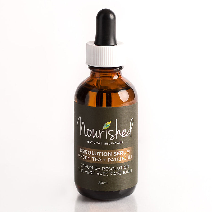 Green Tea & Patchouli Resolution Serum