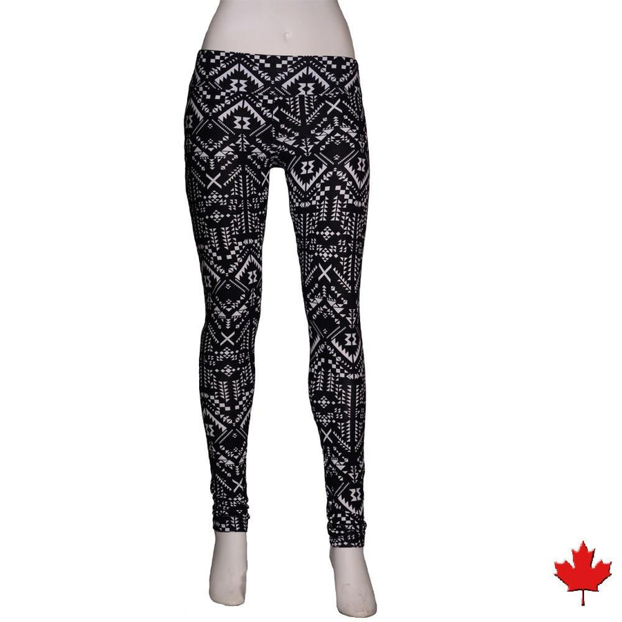 Women's Bamboo Yoga Leggings - NEW - Naturally Canada