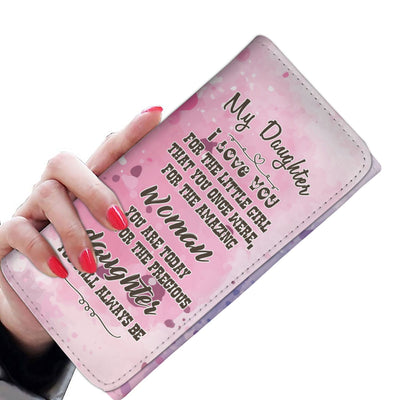 My Daughter - I Love You Clutch Purse Wallet