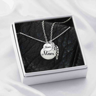Keep Mom close to your heart - Necklace - (MADE IN THE USA)