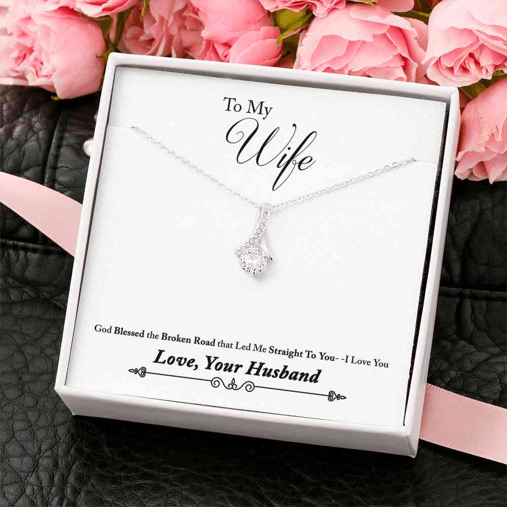 To My Wife - Alluring Beauty Necklace