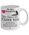 To My Daughter - Always Remember - Coffee Mug