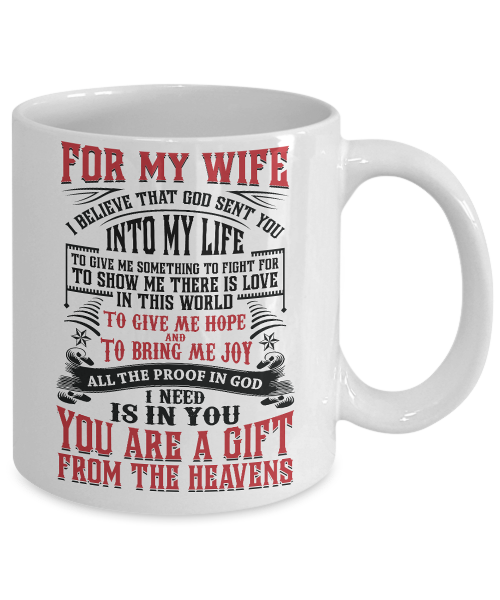 To My Wife - Coffee Mug