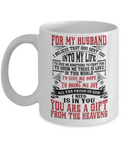For My Husband - Coffee Mug