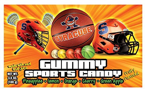 Syracuse Sports Candy Gummy (12 Pack)