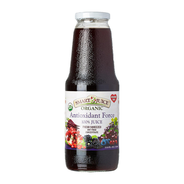 Smart Juice ANTIOXIDANT FORCE 100% Organic Juice (6 Pack)