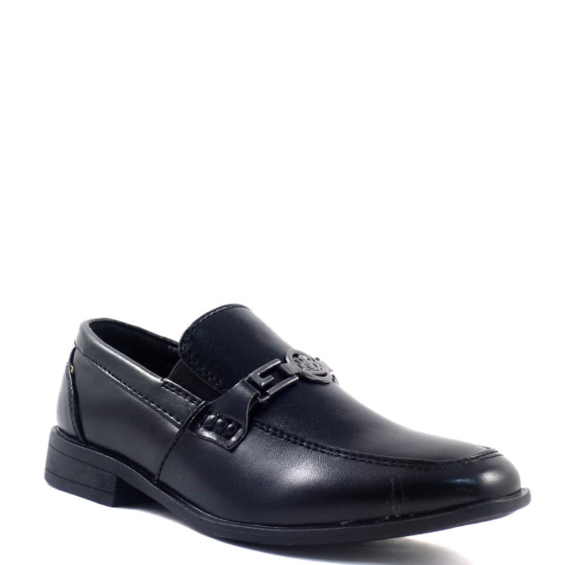 Kids (Youth) Boys Detail Front Buckle Dress Shoe - 2343456