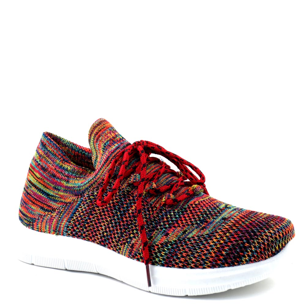 Outwoods by Pierre Dumas Closed Multi Colored Lace Up Sneakers - 81520