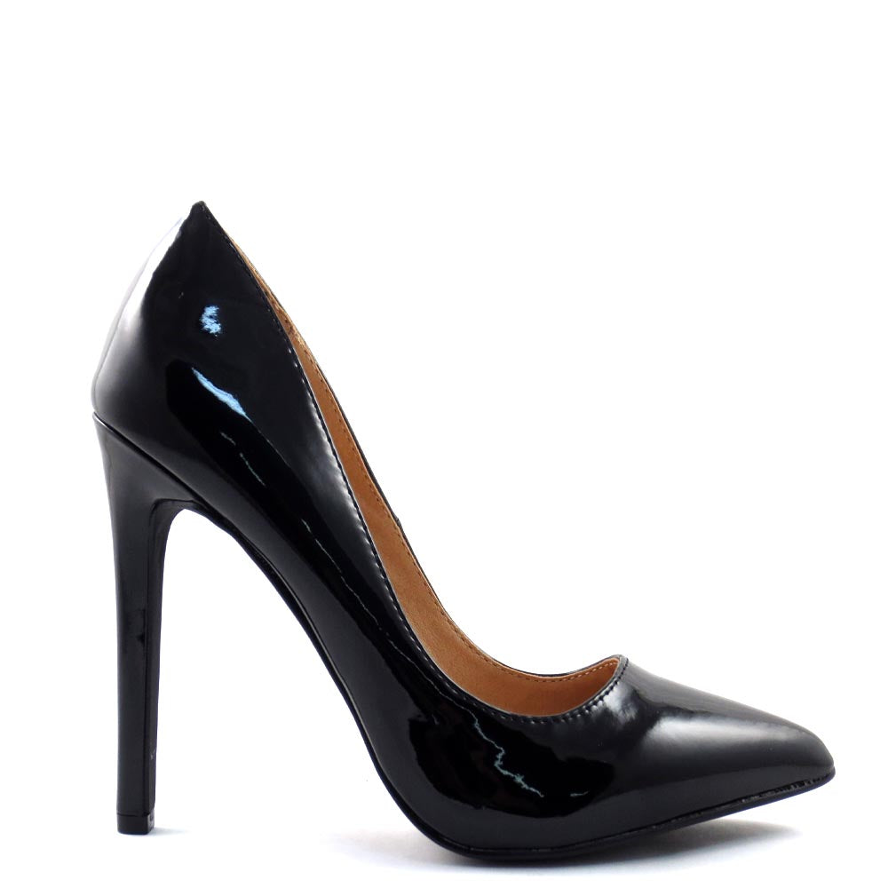 Olivia Jaymes Classic Patent Stiletto Heels - Kendall