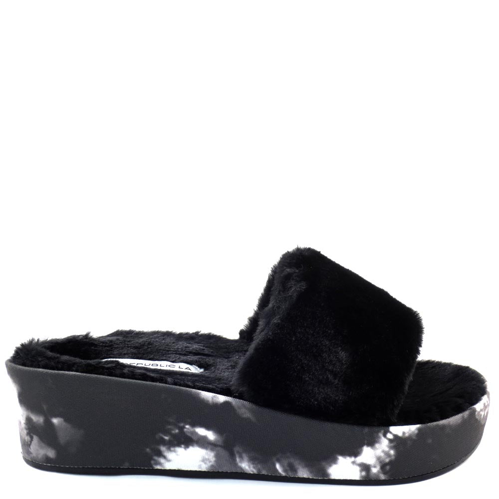 Shoe Republic Open Toe Fury Platform Sandals - Krite