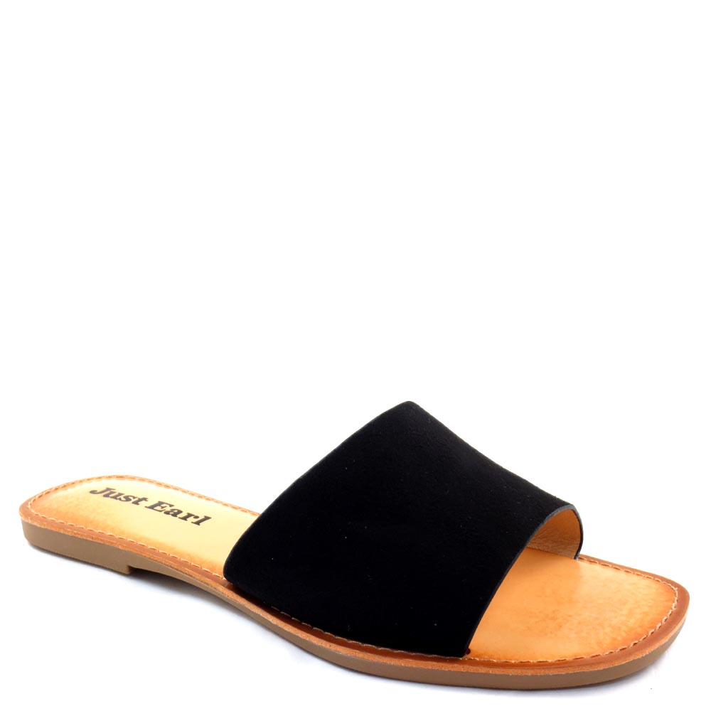 Just Earl from Soda One Vamp Easy Slide In Sandals - LS11400