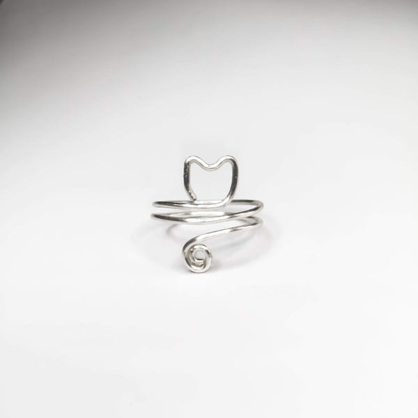 Cat Ring - adjustable - Cat's Curiosity Shop