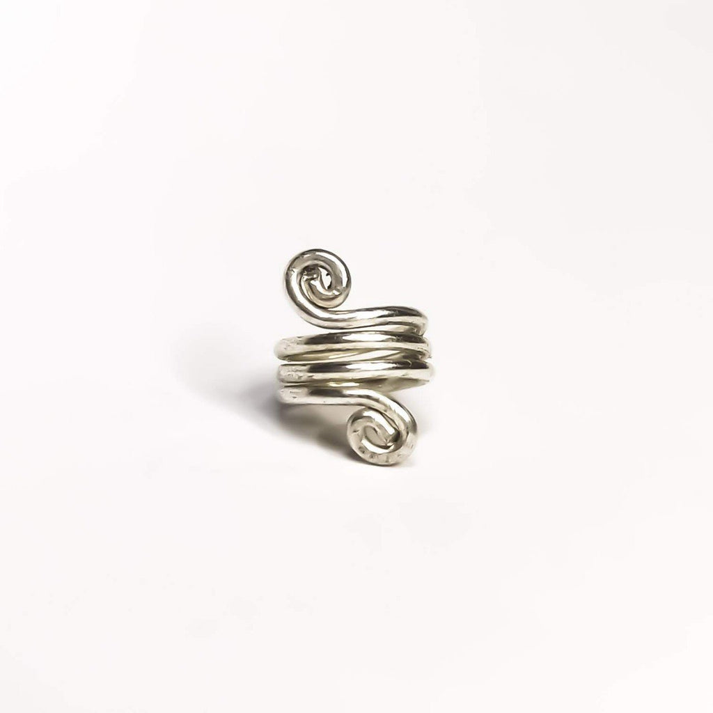 Small Spirals: Hair/Beard ring - Cat's Curiosity Shop