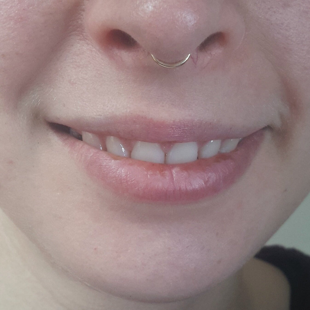 Fake Septum Ring - Gold or Silver - Cat's Curiosity Shop
