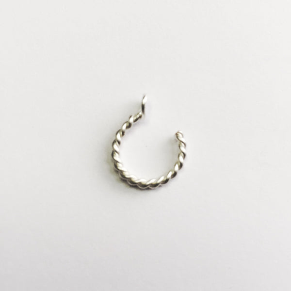 Twisted Fake Nose Ring - Cat's Curiosity Shop