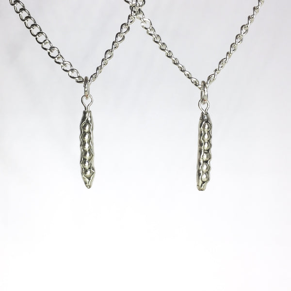 Peas in a Pod - Matching Necklaces - Cat's Curiosity Shop