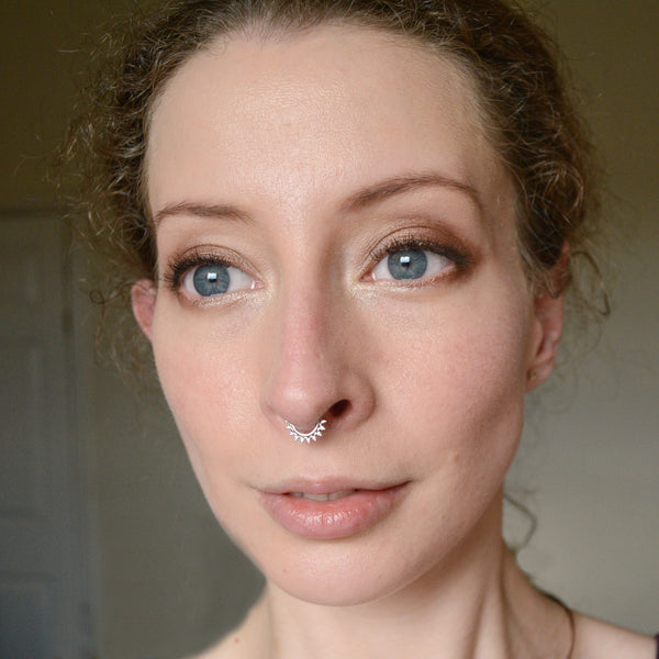 Crowning Glory Septum/Daith Ring - Cat's Curiosity Shop