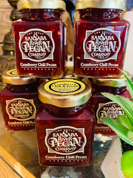 Cranberry Chili Pecan Preserves