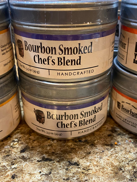 Bourbon Smoked Chef's Blend Sea Salt