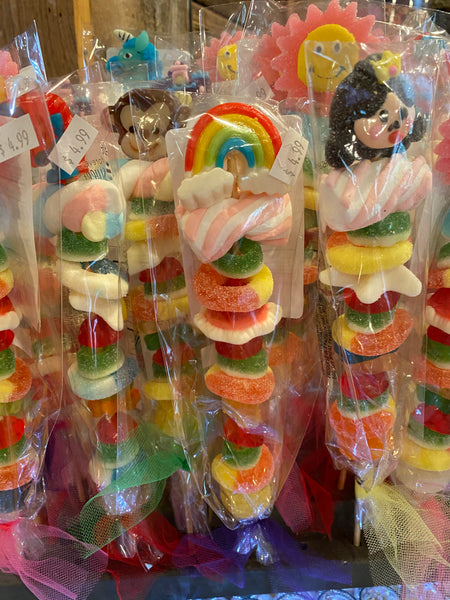 Gummy Kabobs Girls