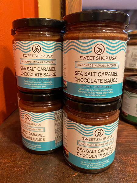 Sea Salt Carmel Chocolate Sauce