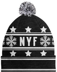 Not Your Father's Pom Pom Beanie