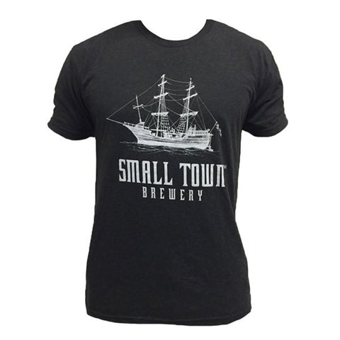 SMALL TOWN BREWERY CHARCOAL BLACK TEE