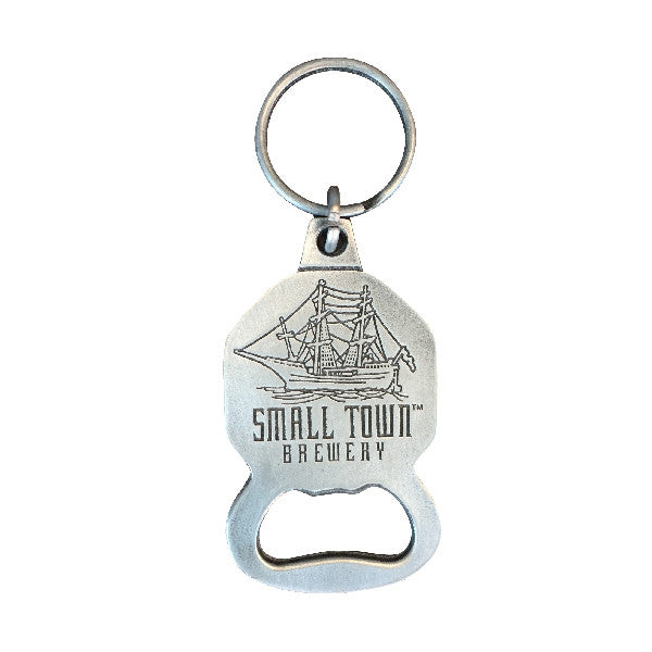 small town keychain bottle opener shop small town brewery s craft beer apparel merchandise. Black Bedroom Furniture Sets. Home Design Ideas