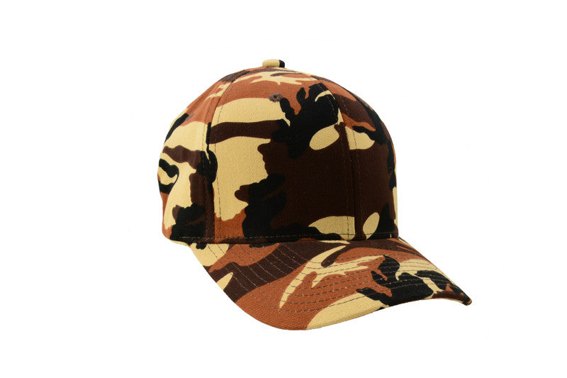 Ball Cap - Camouflage