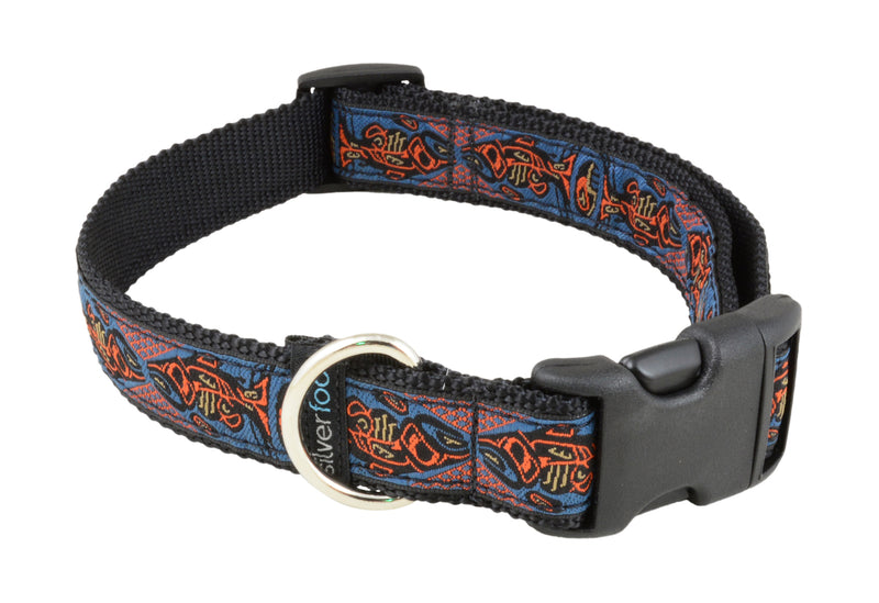 Dog Clip Collar - Chinook Blue Orange