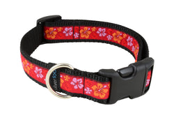 Dog Clip Collar - Maui Wowie Red
