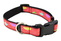 Dog Clip Collar - Samasara Red
