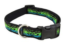 Dog Clip Collar - Turbine Green