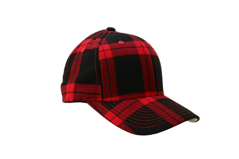 Ball Cap - Flex Fit Plaid