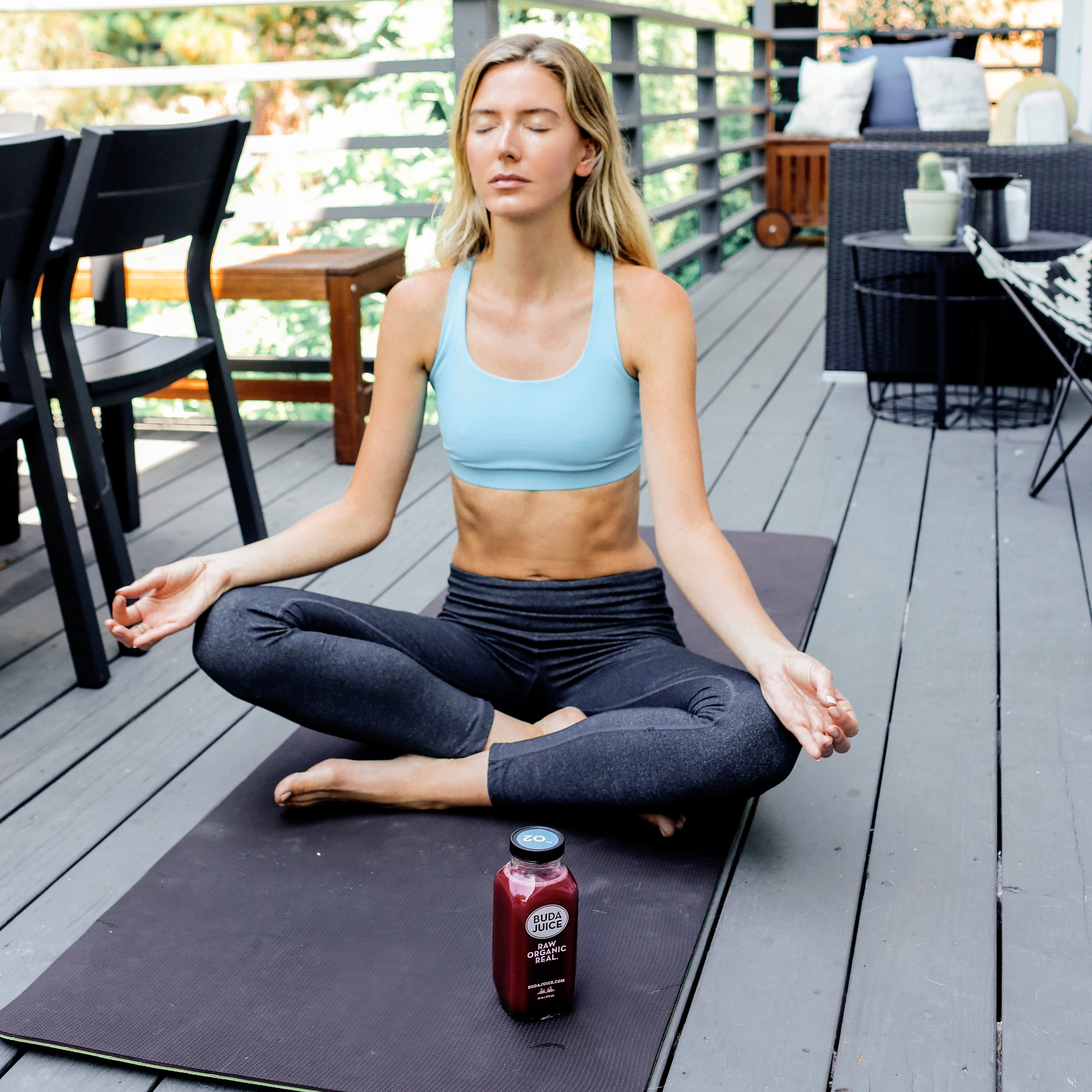 buda juice and yoga