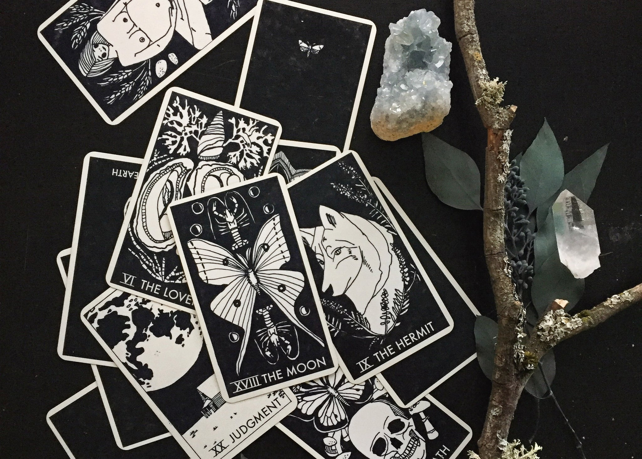 The Nomad Tarot is back!