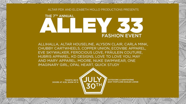 The 7th Annual Alley 33 Fashion Event