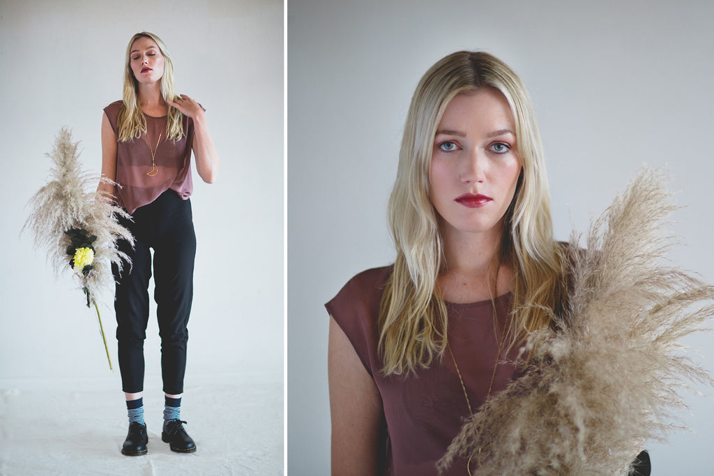 Portland Local Fashion Altar PDX Fall Winter Lookbook Dark Bohemian