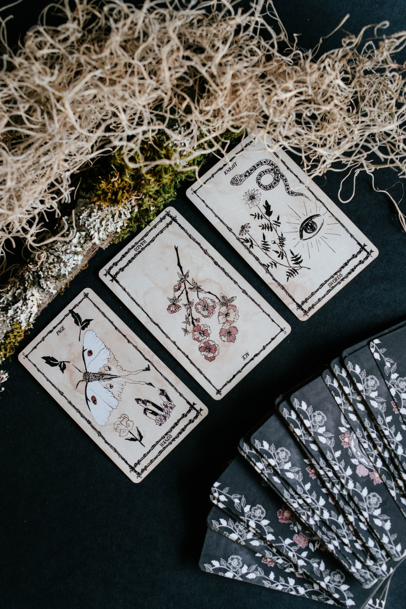 Shop Portland Local Altar PDX Northwest Handmade Independent Artists Tarot Cards Deck Ophidia Rosa Leila & Olive Spreads Magic Paganism Arcana Gothic Boho Chic Witch Fortune Telling Predictions Minimalist Floral Spiritual Blog