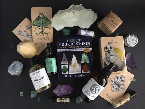 Portland Local Boutique Altar PDX Giveaway: Tarot Cards, Crystals, Lip Balm, Oils, Potions, Body Sprays, Lipstick and Candles