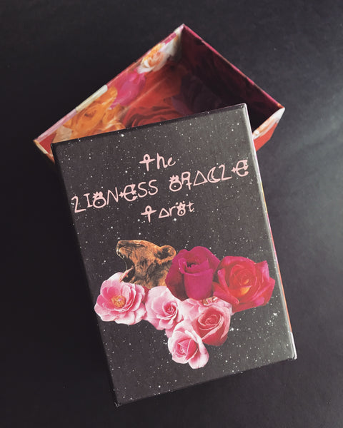 Portland Local The Lioness Oracle Tarot Deck Cards Altar PDX Magic Mysticism Shopping Collage Cards